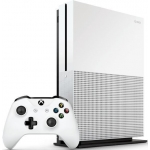 Microsoft Konsola MICROSOFT Xbox One S 1TB + Gra Shadow Of War + 6M Live Gold